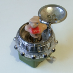 E.T. The  Extra-Terrestrial LJN 1982 Wind-Up Clock Work Spaceship @sold@